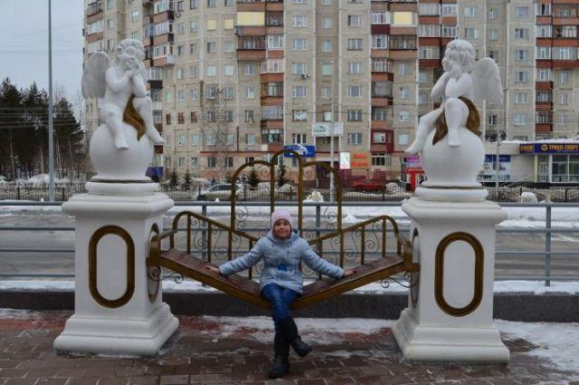 Работа Светланы Шлыковой из школы №37 Сургута