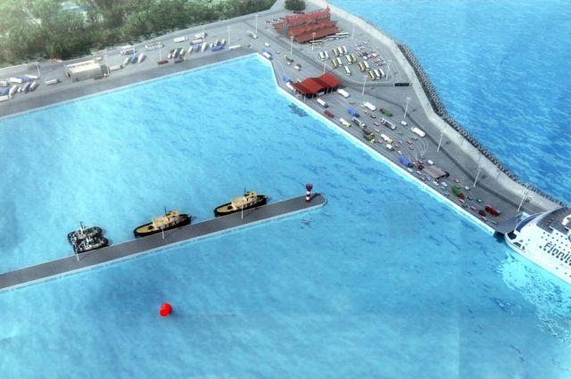 Международный морской терминал вПионерском обещают достроить кЧМ