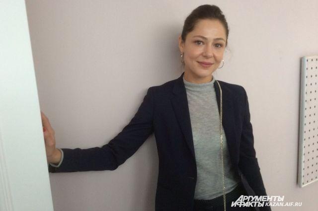 Елена Лядова побывала в Казани впервые
