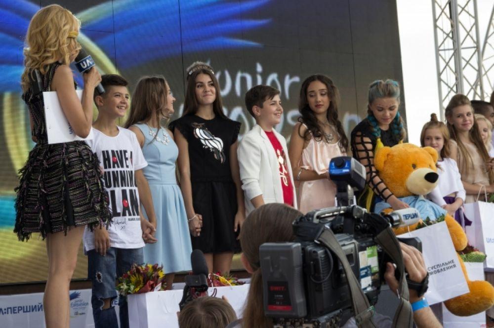 Приз зрительских симпатий от лагеря Артек.ua забрала Алиса Панчук