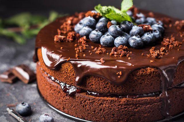 Шоколадный торт картинка
