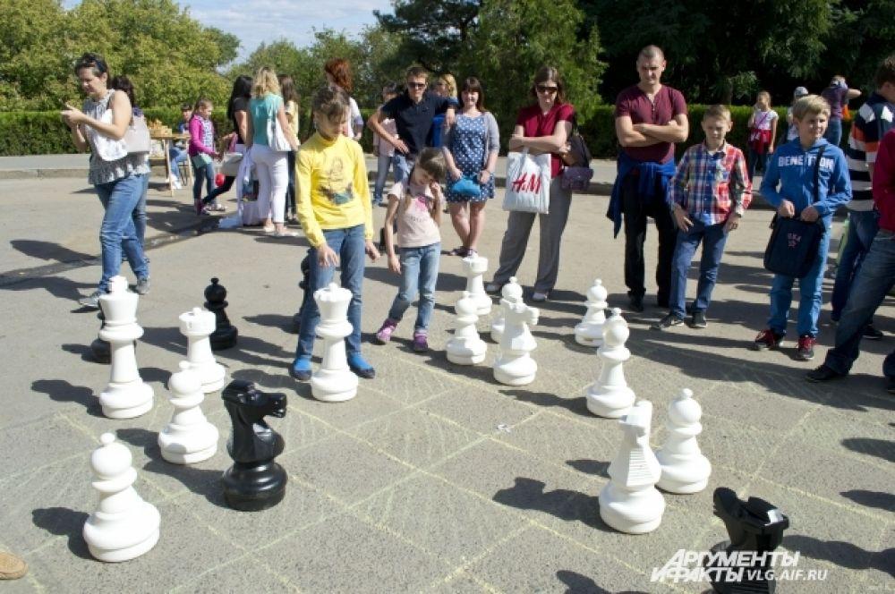 Интеллектуалы сразились в шахматном турнире.