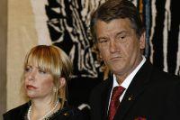 Виктор Ющенко с супругой Екатериной.