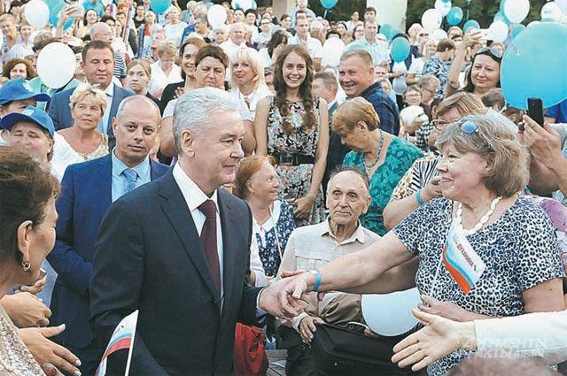 Собянин: НаТаганской площади создано удобное публичное пространство