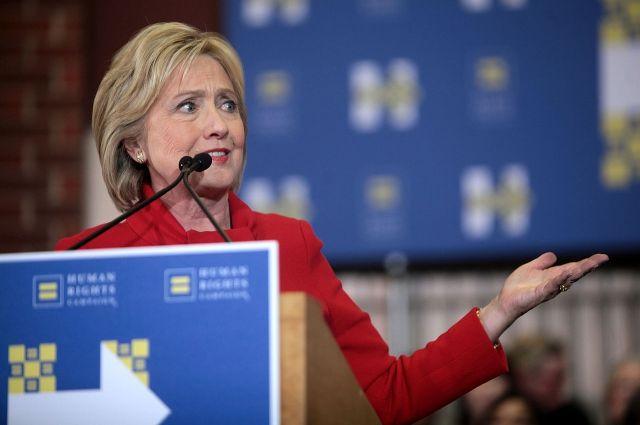 Клинтон сказала , что ейуже лучше