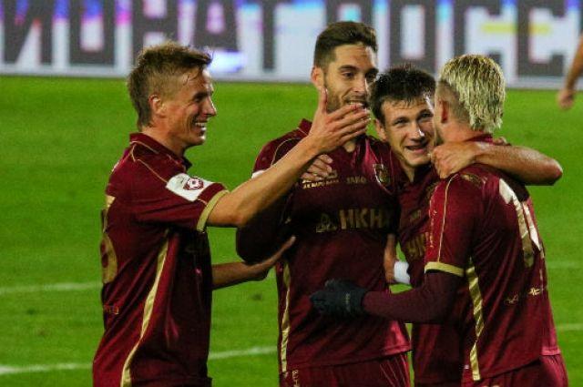 Первая победа казанцев в футбольном премьер-лиге.
