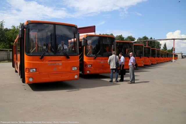 Публичный транспорт вНижнем Новгороде будет подготовлен кзиме доконца октября