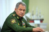Министр обороны Сергей Шойгу.