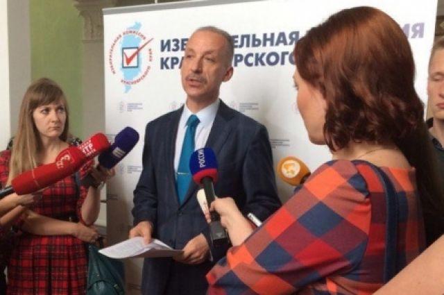 Руководитель Крайизбиркома Константин Бочаров озвучил результаты подготовки квыборам вКрасноярском крае