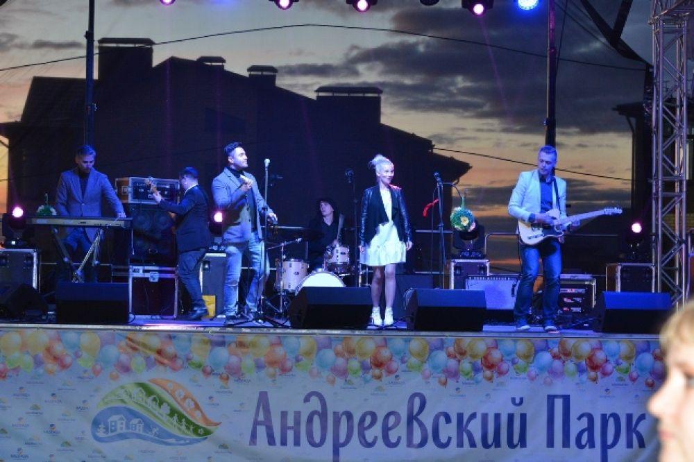 Концерт кавер-группы «Ривьера».