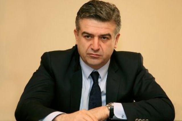 Новым премьером Армении назначен Карен Карапетян