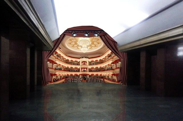 Сосреды вКиеве начинается полноценный ремонт эскалатора настанции метро «Театральная»