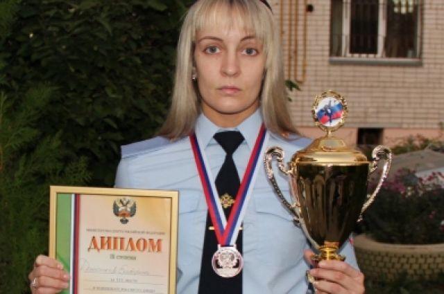 Сотрудница милиции изБрянска завоевала «бронзу» чемпионата Российской Федерации подзюдо