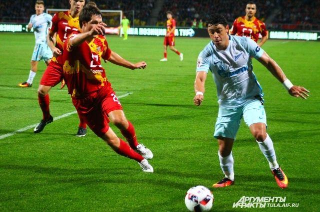 Фото с матча «Арсенал» - «Зенит»
