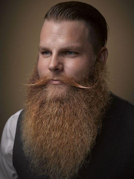 На конкурсе были известные стилисты по бородам, а также многократные чемпионы и победители этого конкурса