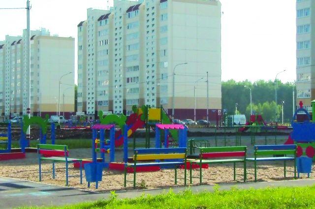 Новые кварталы Омска радуют взгляд.