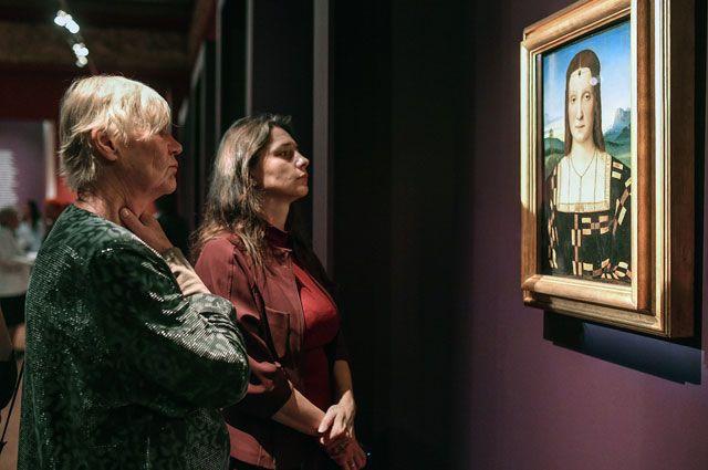Выставка Рафаэля открылась в столицеРФ