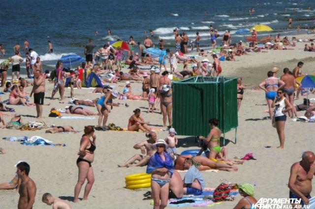 На 20% увеличился поток туристов в летний период в Калининградскую область.