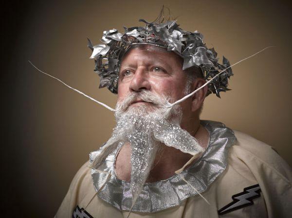 В конкурсе за лучшую бороду и усы было аж 18 категорий