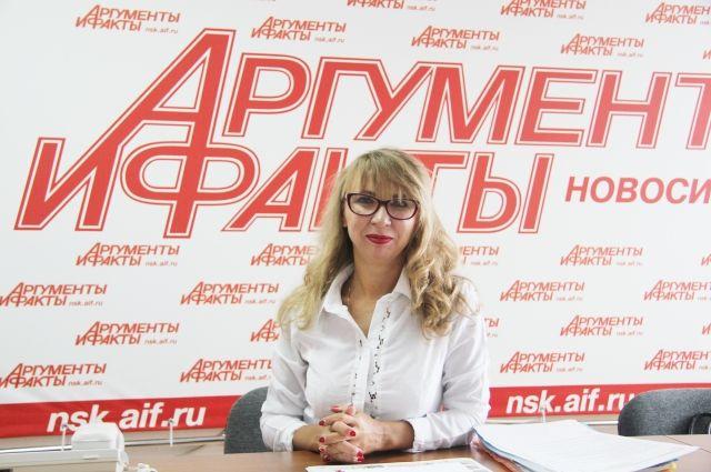 Заместитель начальника правового отдела Государственной жилищной инспекции Новосибирской области Ольга Герш.
