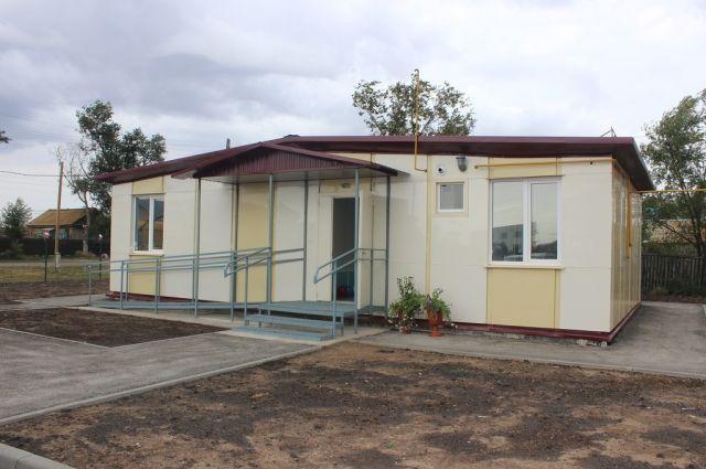 Новый фельдшерско-акушерский пункт построили вВолгоградской области за7 млн руб.