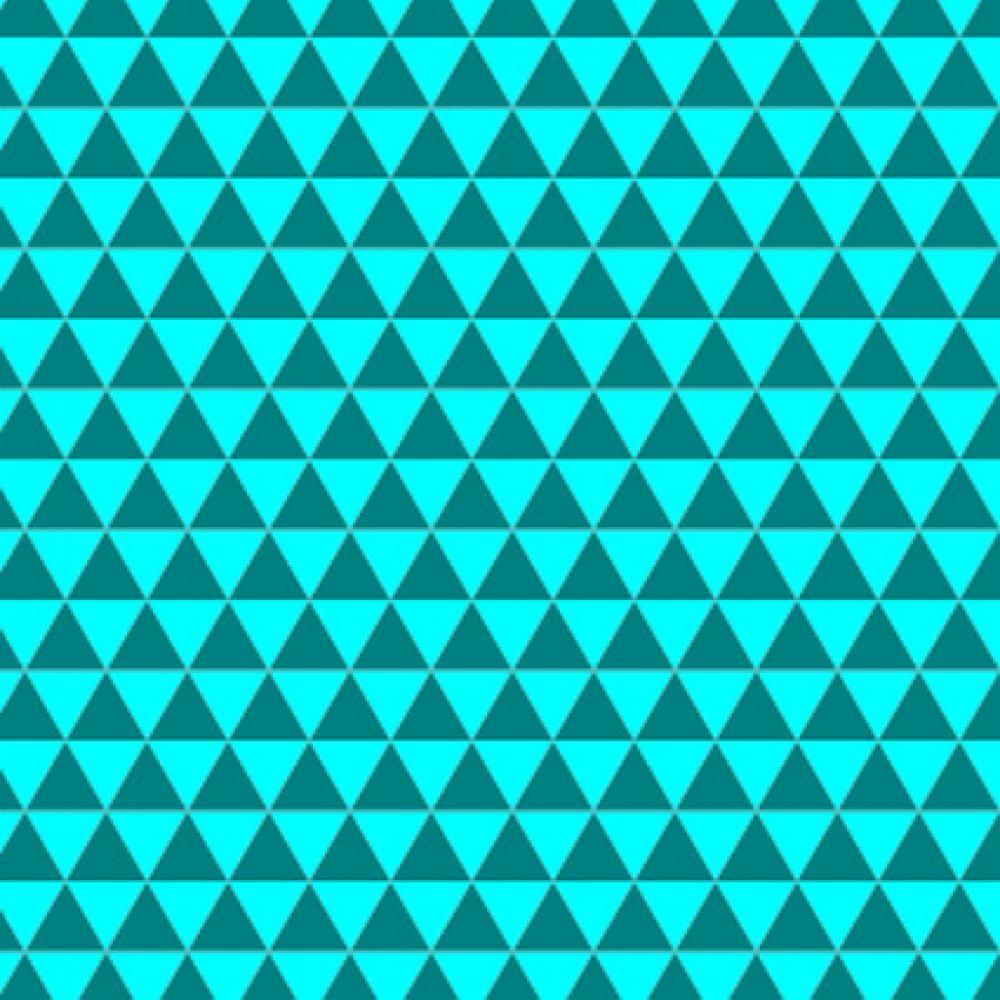 Гексагональная решетка создает эффект появления треугольников разного размера в разных местах.