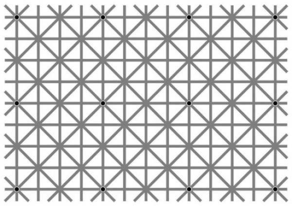 Оптическая иллюзия, опубликованная Уиллом Керслейком.