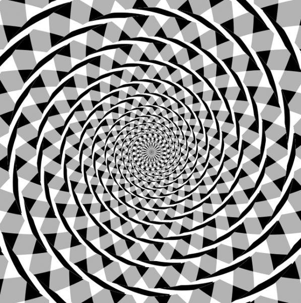 Иллюзия «Окружности или спирали?»