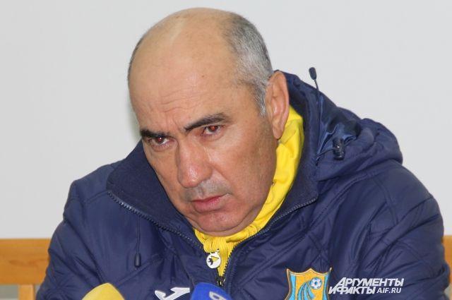 Курбан Бердыев хочет войти всовет начальников ФК «Ростов»
