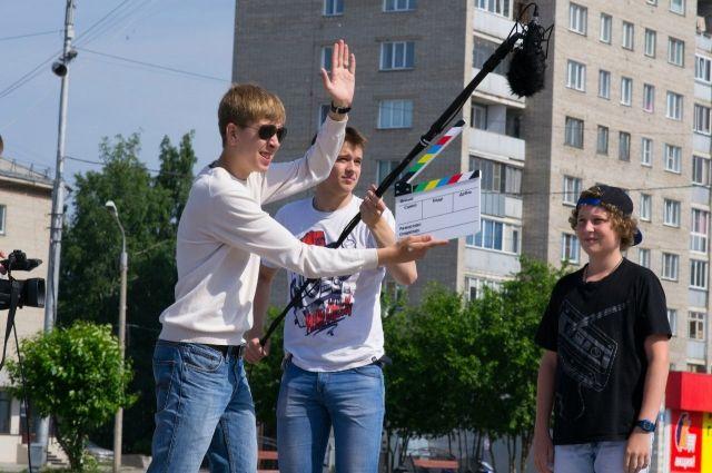 Летом в Бердске снимали кино