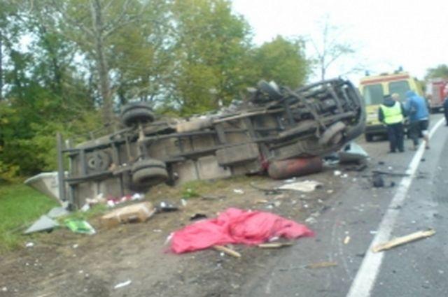 Нафедеральной трассе вРязанской области столкнулись фургоны