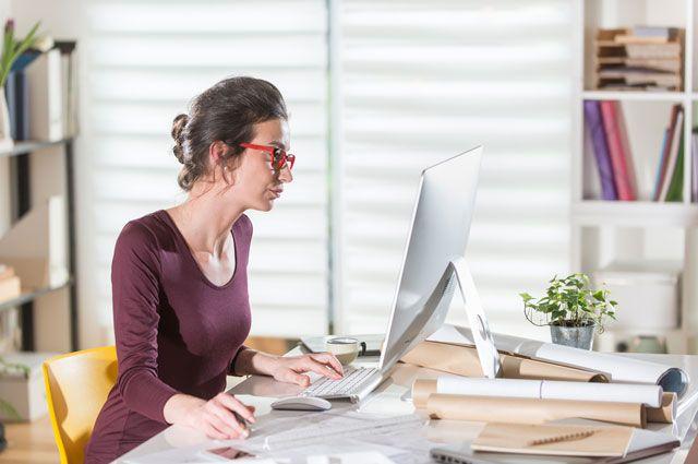 Излучения от принтера и компьютера негативно сказываются на внешности.