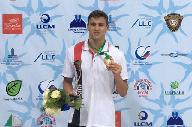 Серпухович одержал красивую победу вФинале Кубка мира поподводному спорту