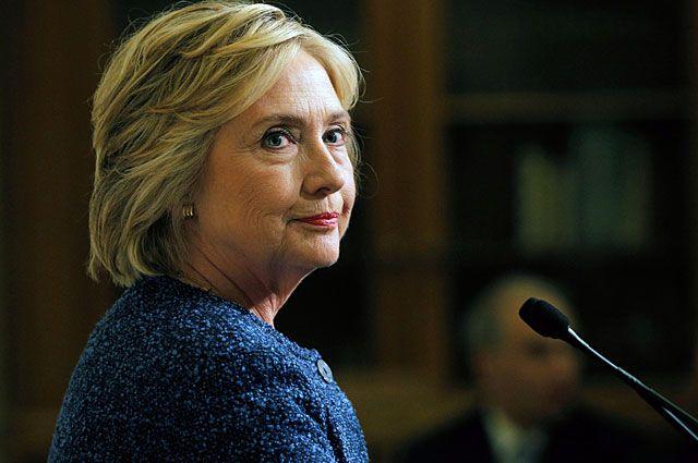 Хиллари Клинтон.