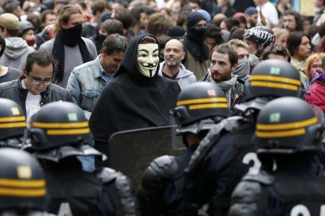 Протесты воФранции: как минимум 15 человек получили ранения