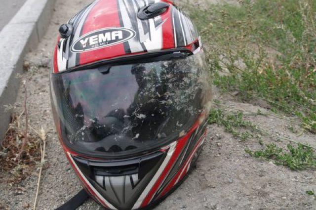 Неизвестный мужчина пострадал при падении смотоцикла вАрдатовском районе