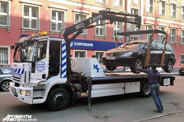 Еще на одной улице Калининграда запретят остановку автомобилей.