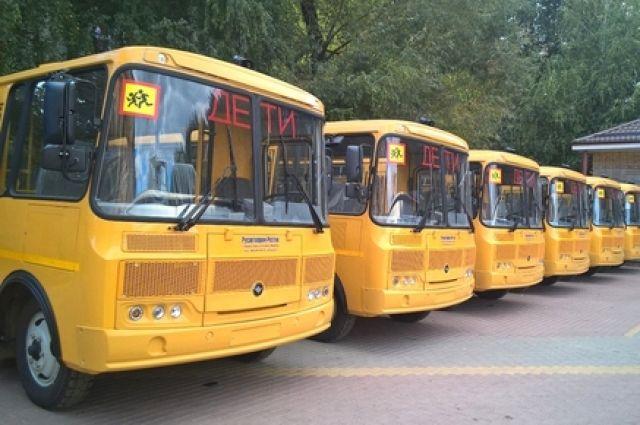 32 школьных автобуса получит Ростовская область