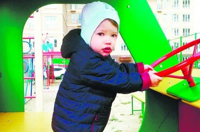 Витя Наймушин через три месяца после трансплантации сердца.