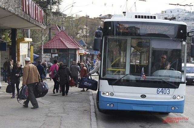 Проезд вкрымских троллейбусах подорожает
