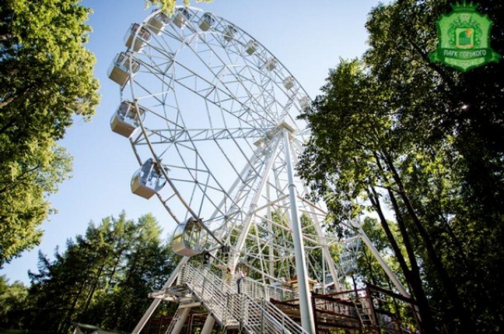 Точно такое же, как в Екатеринбурге, смонтровано в парке имени Горького Перми.