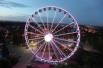 Колесо «На Диво острове» в Санкт-Петербурге  построено как замена старому колесу высотой 27 метров. Сдано в эксплуатацию в 2013 году. Высота 55 метров.