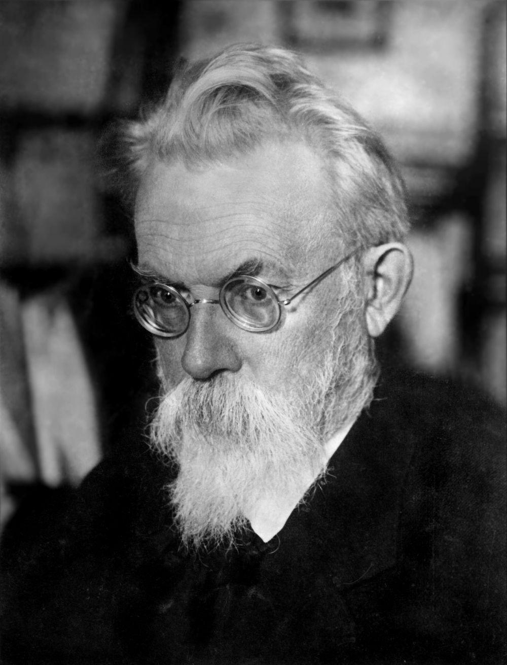 Русский ученый Владимир Иванович Вернадский.