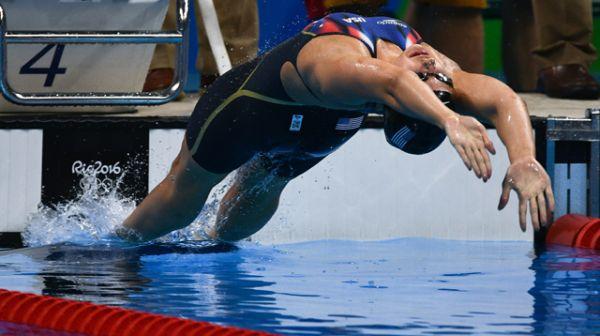 Кэтлин Бейкер, плавание.