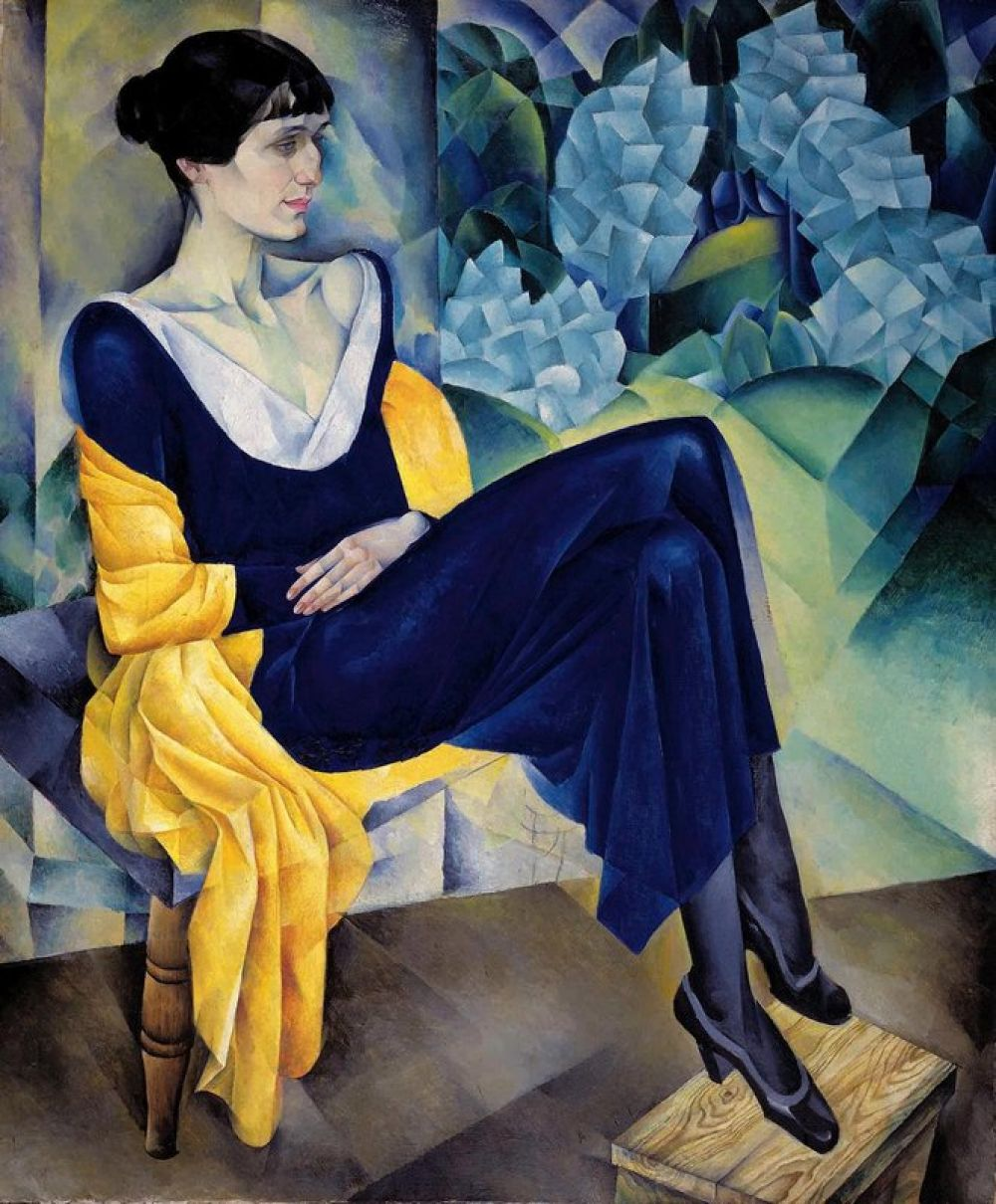 Поэтесса Анна Ахматова.