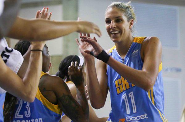 Елена Делле Донн, баскетбол.