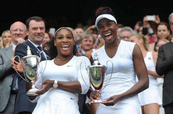 Серена и Винус Уильямс, теннис.