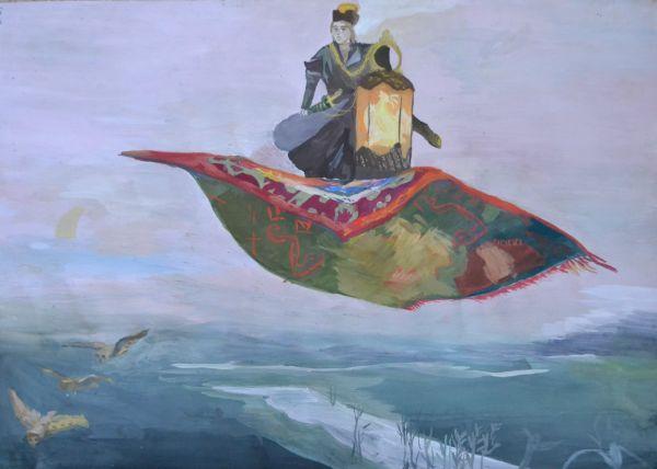 «Ковёр-самолёт» в исполнении Алины Фисенко, 12 лет.
