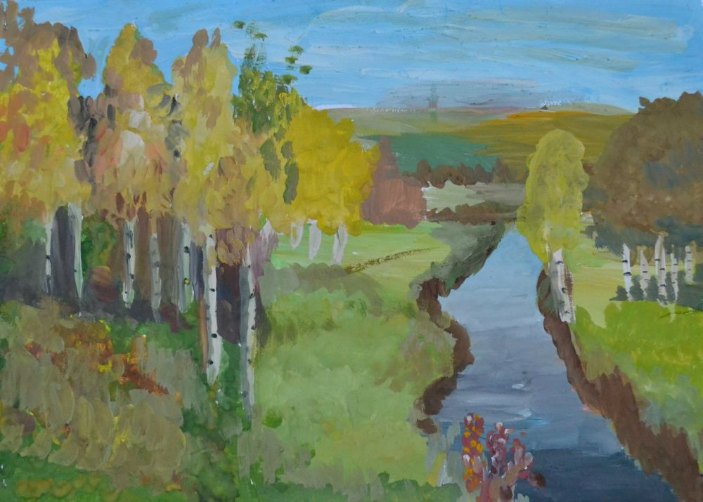 «Золотая осень», Солопов Данил, 9 лет.