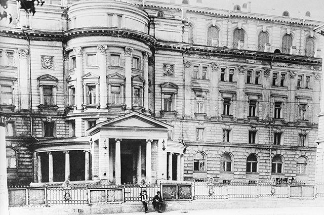 Здание Московской консерватории. 1900-е годы.